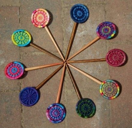 Dorset Button Shawl Pin Kit - Crosswheel Design, No Yarn Option